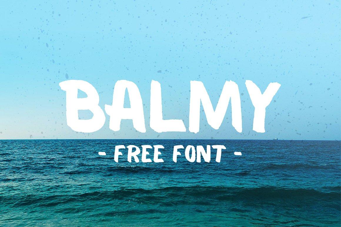 Balmy-Font