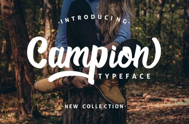 Campio Script Font