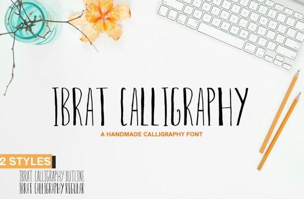 Ibrat Calligraphy Font