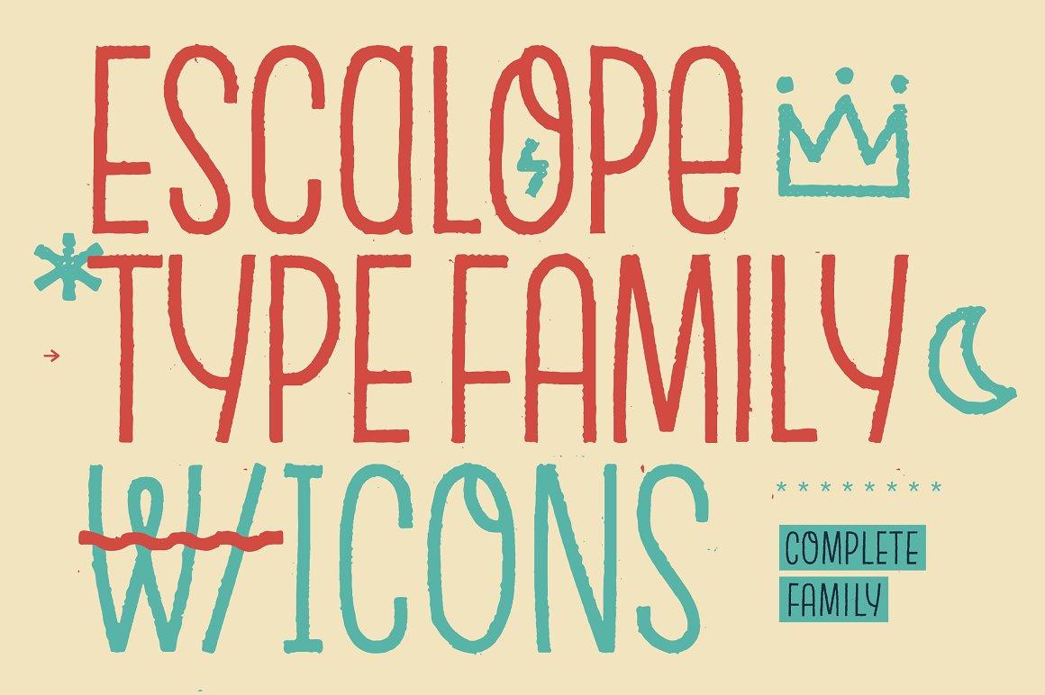 Escalope-Font