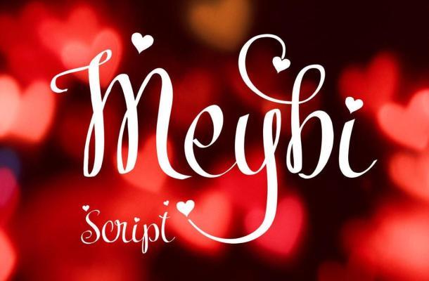 Meybi Script Font