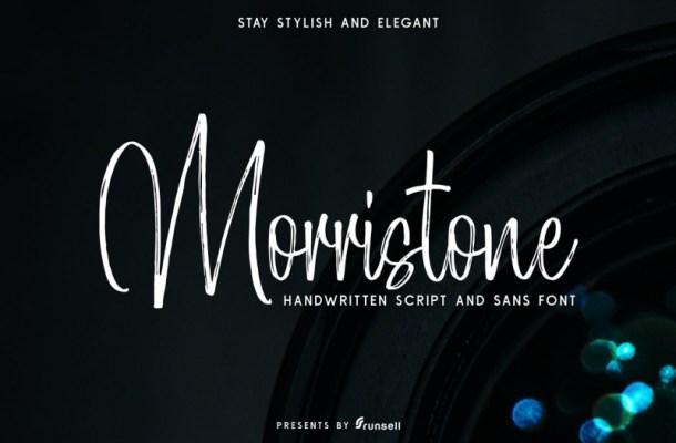 Morristone Font Duo – Free Demo