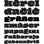Oi! Typeface