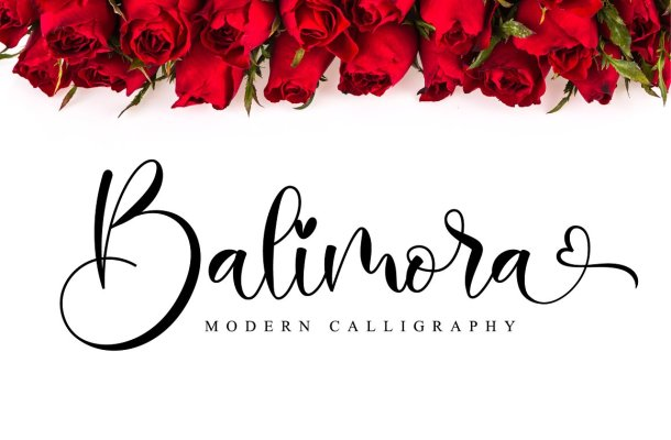 Balimora Script Font