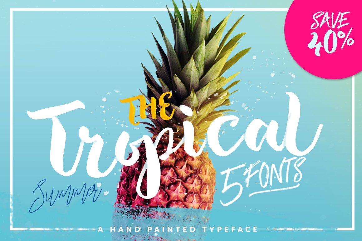 Tropical-Font