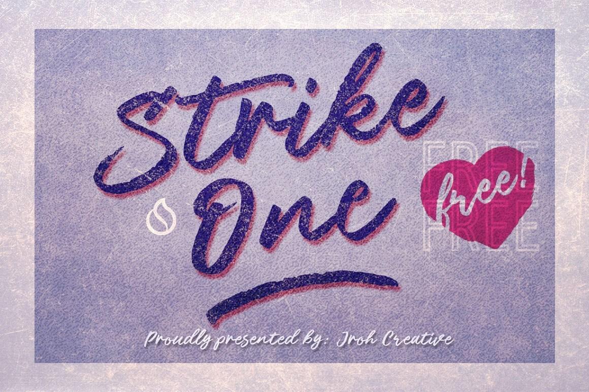 Strike-One-Font
