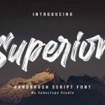 Superion Brush Font