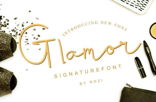 Glamor Font