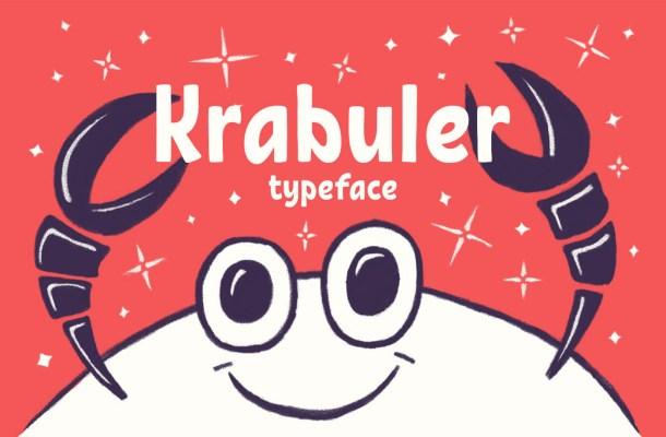 Krabuler Font