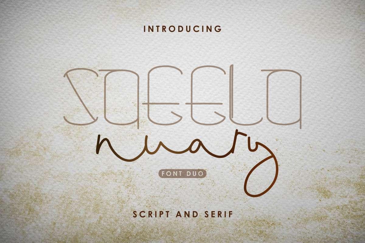 Saeela-Nuary-Font