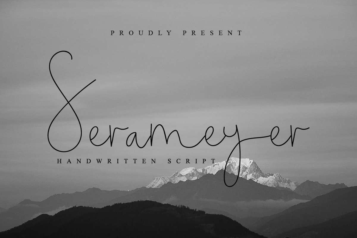 Serameyer-Font
