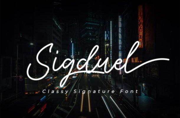 Sigduel Font