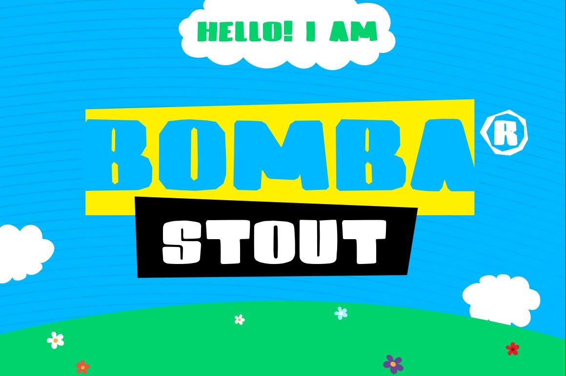 Bomba-Stout-Font