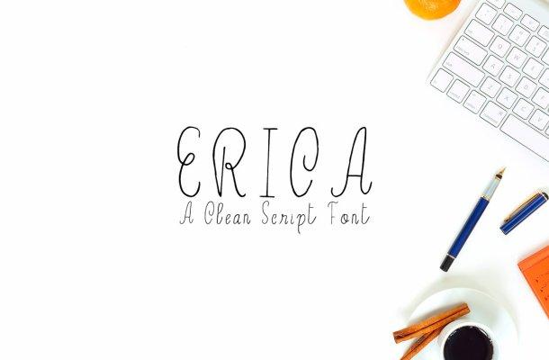 Erica Handwritten Font