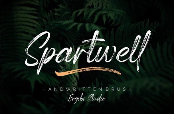 Spartwell Brush Font