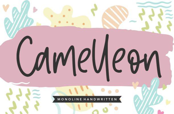 Camelleon Font