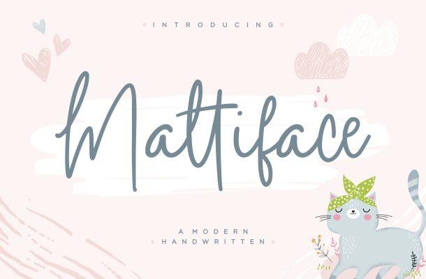 Mattiface Font