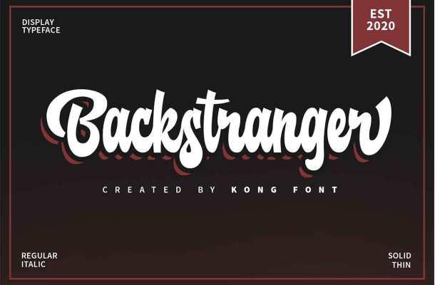 Backstranger Font