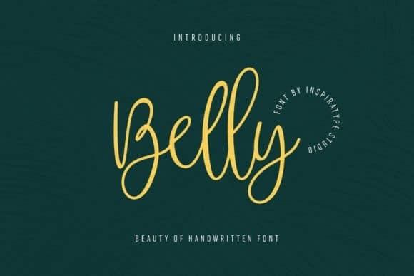 Belly Script Font