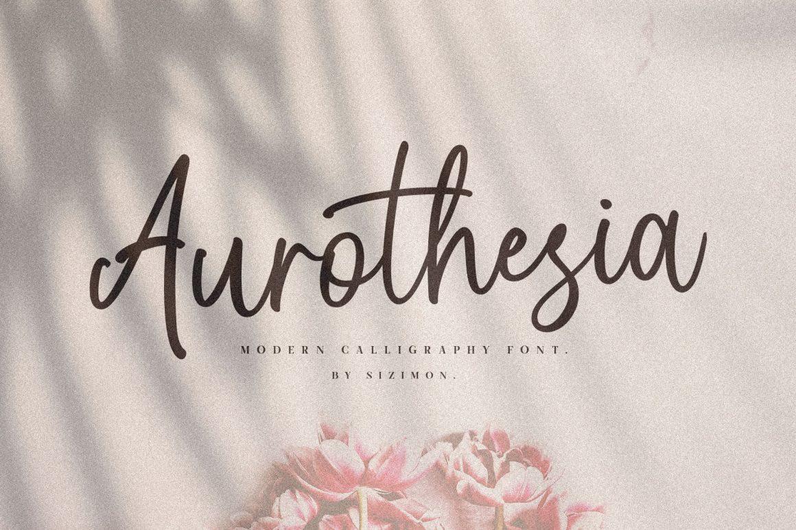 Aurothesia-Font