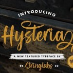 Hysteria Brush Script Font