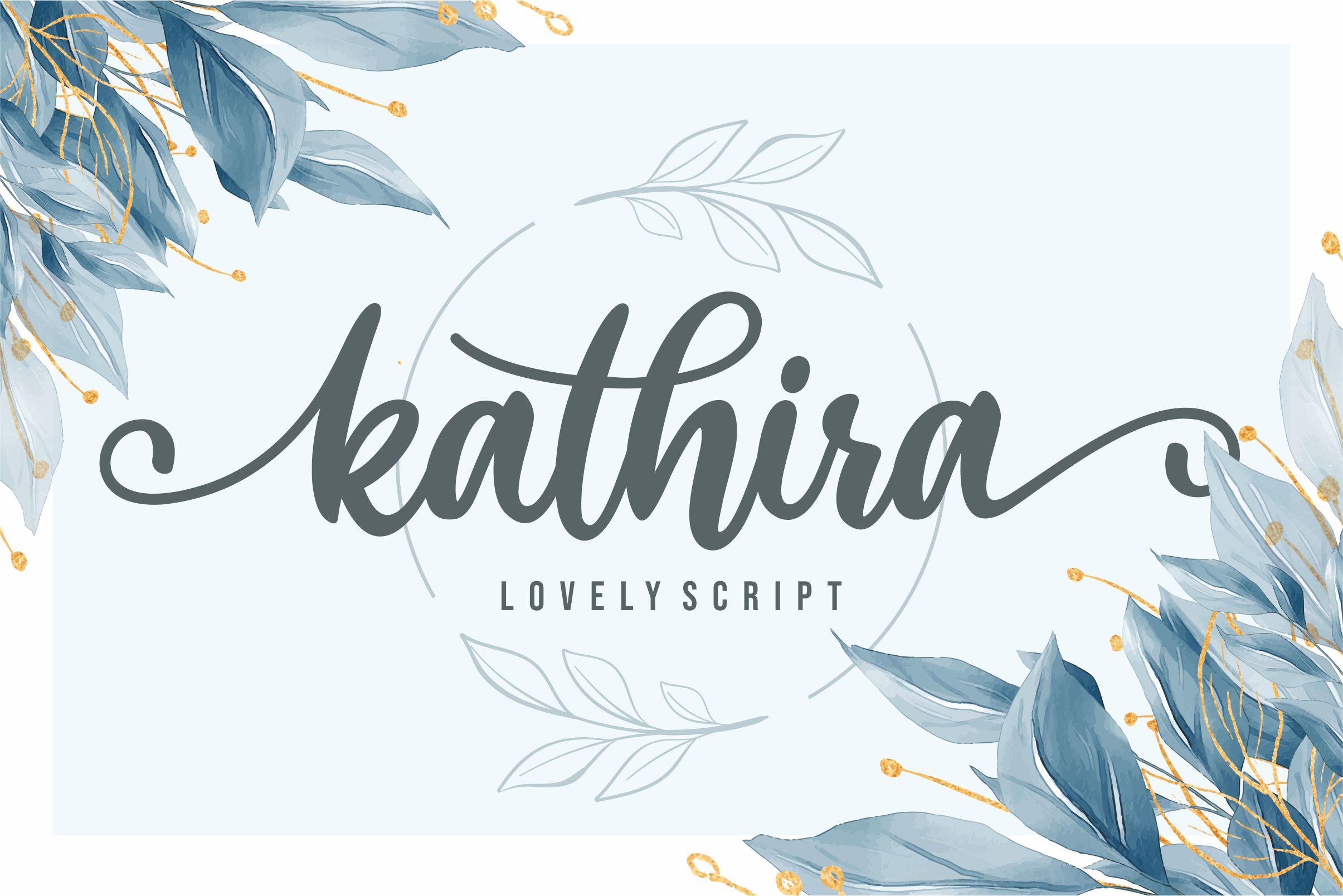 Kathira-Font