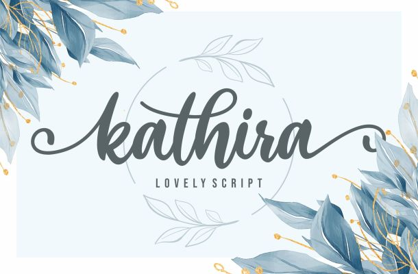 Kathira Font