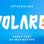 Volare Display Font