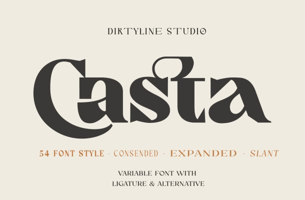 Casta Serif Font