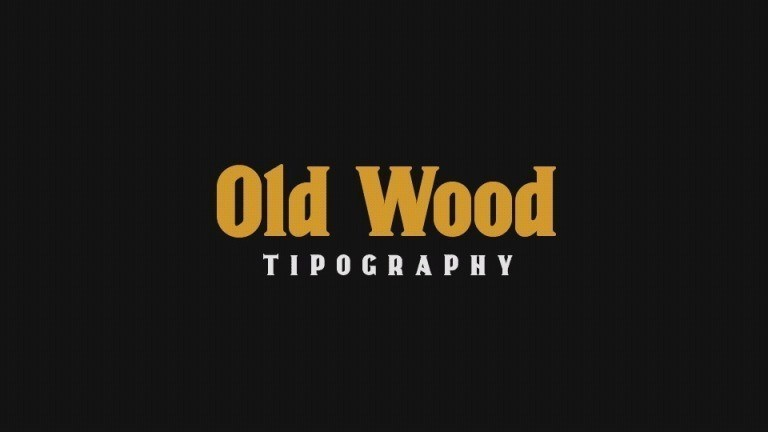 old-wood-font-1
