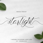 Starlight Modern Calligraphy Font