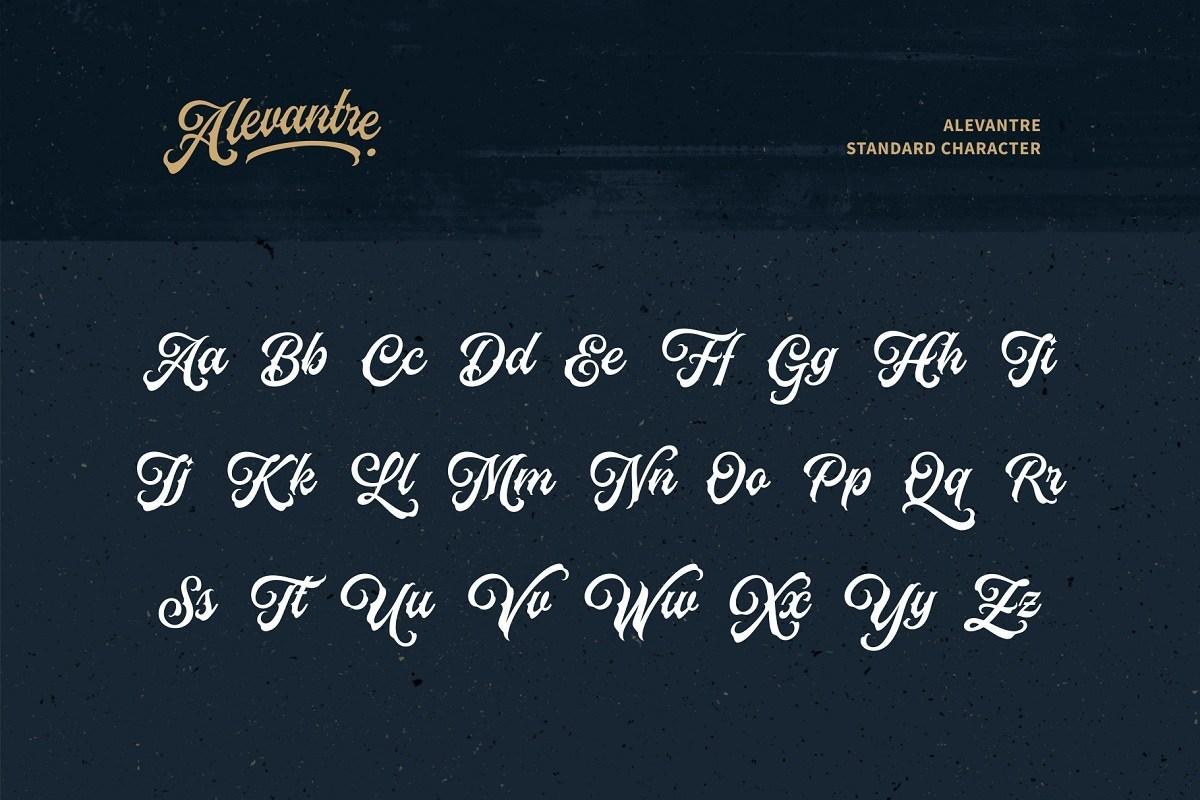 Alevantre-Tattoo-Bold-Script-Font-3