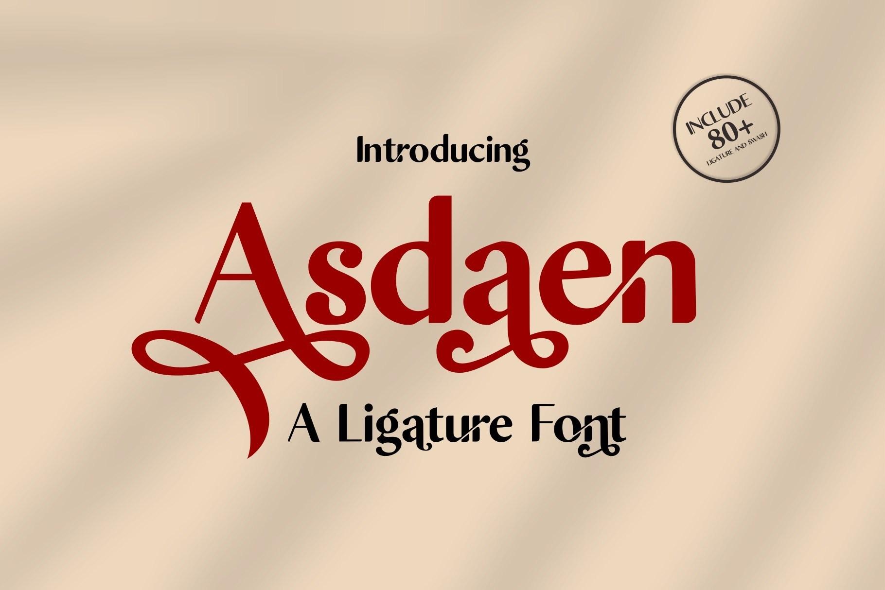 Asdaen-Fonts-1