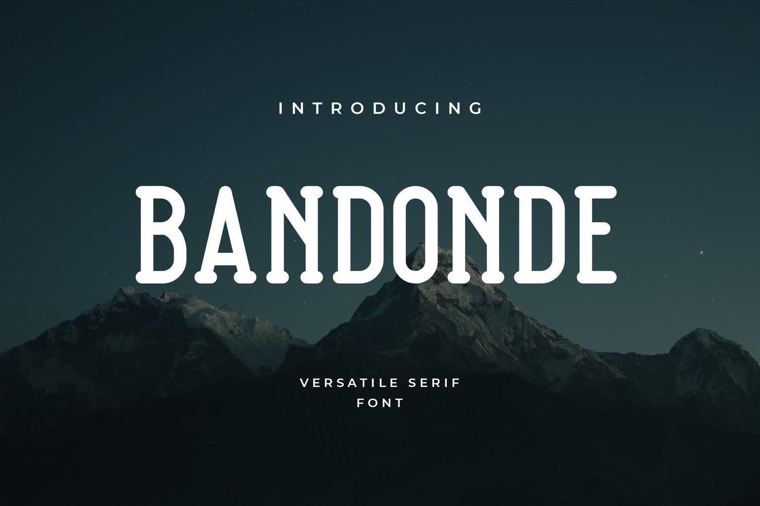 Bandonde-Versatile-Serif-Font-1
