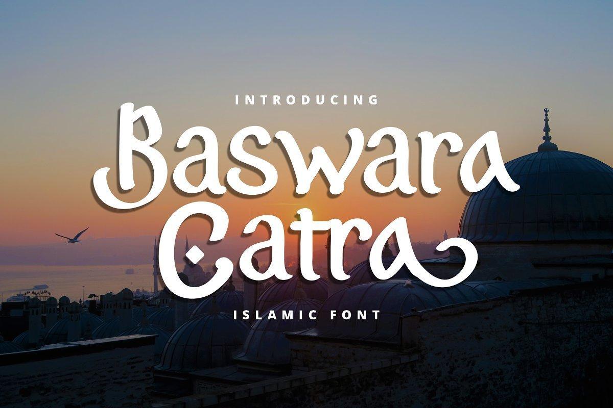 Baswara-Catra-Islamic-Font-1