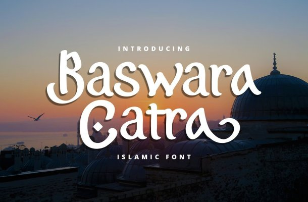 Baswara Catra Islamic Font