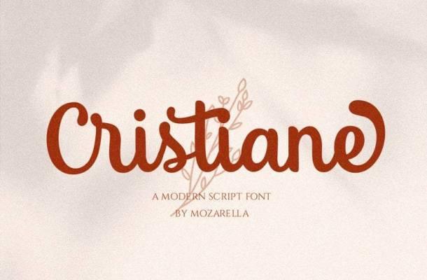 Cristiane Modern Script Font