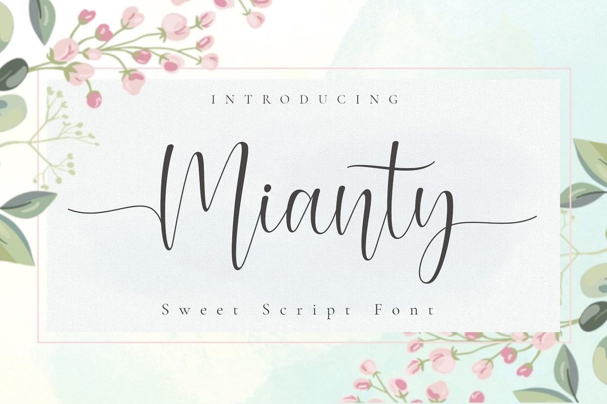 Mianty-Calligraphy-Script-Font-1