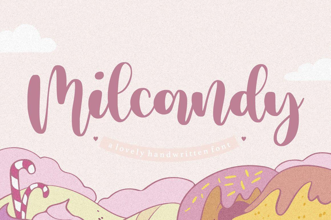 Milcandy-Font