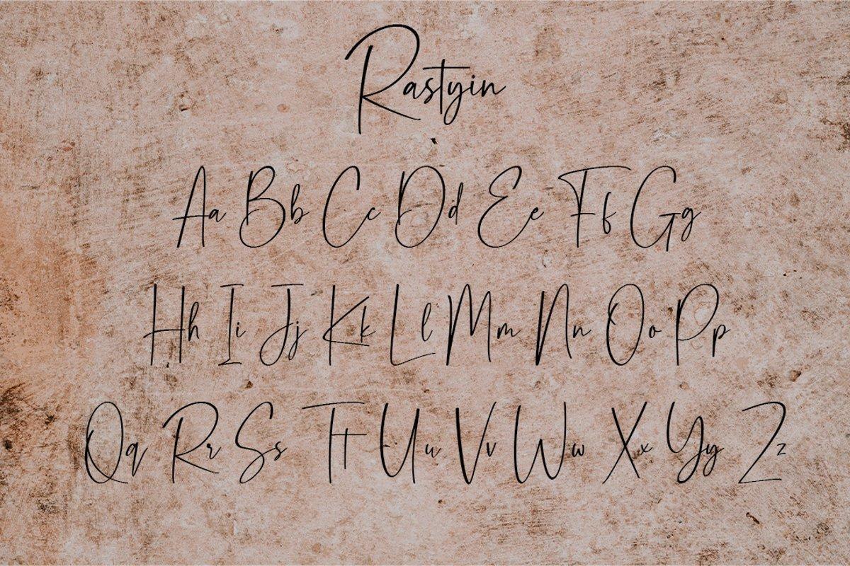 Rastyin-Handwritten-Script-Font-3