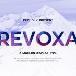 Revoxa Display Font