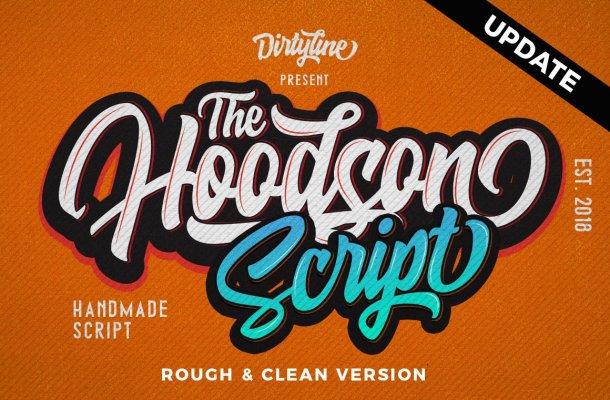 Hoodson Script Font