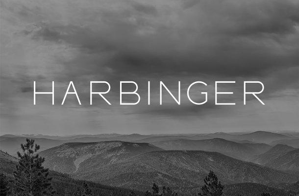 HARBINGER sans serif font