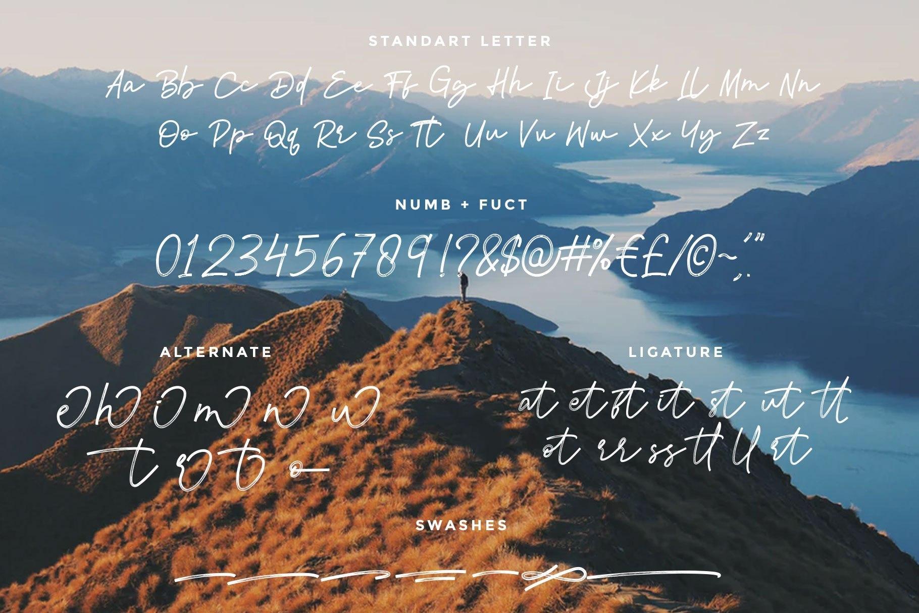 Atalla-Brush-Script-Font-4
