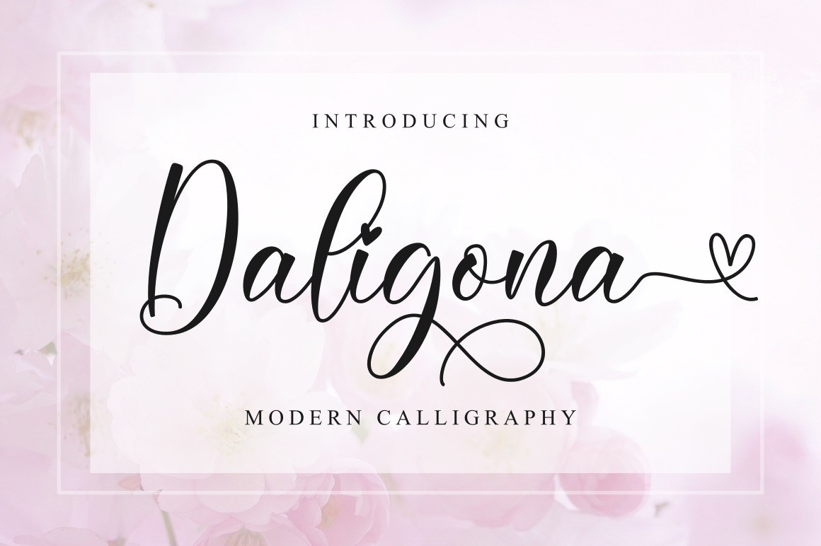Daligona-Modern-Calligraphy-Script-Font