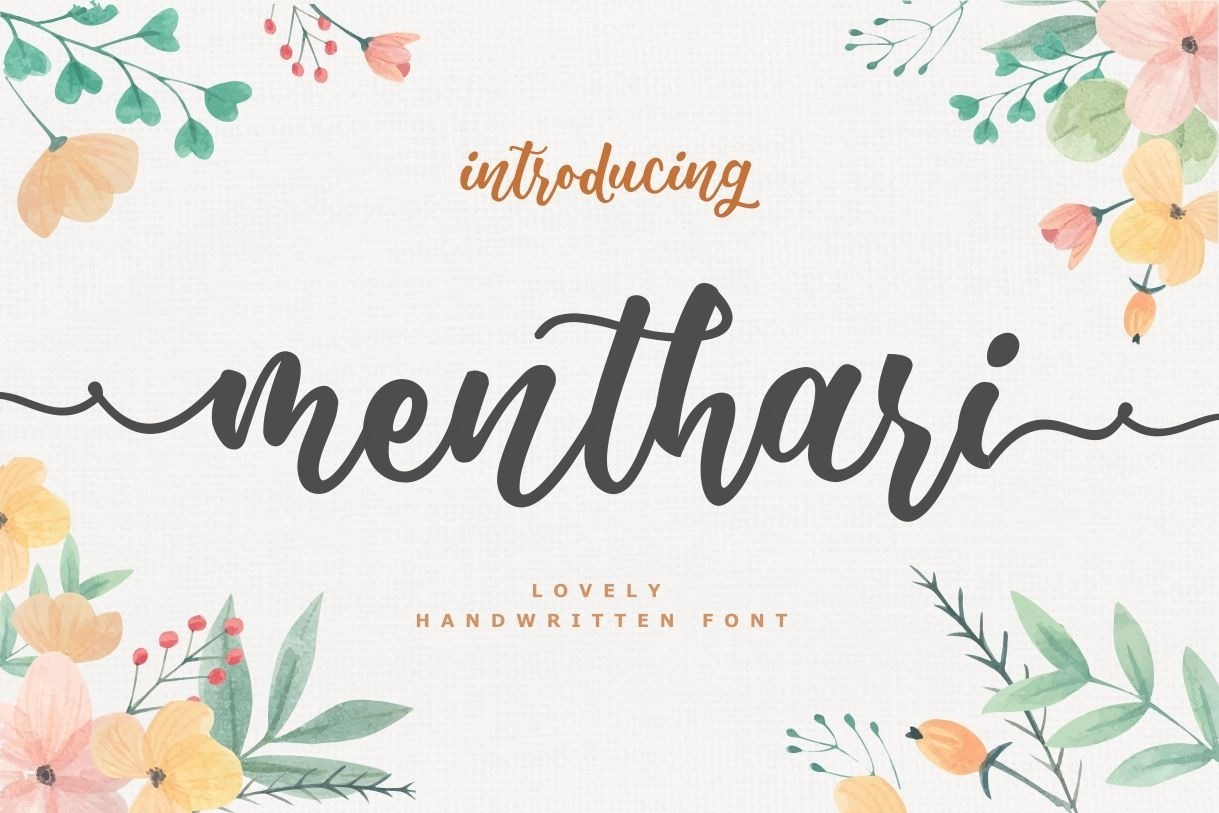 Menthari-Lovely-Handwritten-Font-1