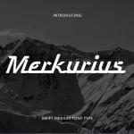 Merkurius Fancy Font