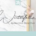 Winterfellia Handwritten Font