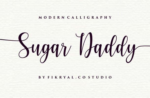 Sugar Daddy Font