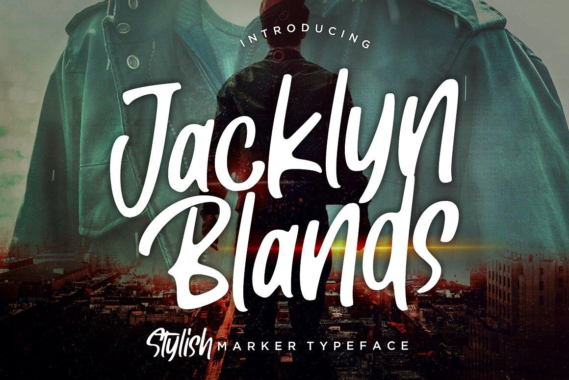 Jacklyn-Blands-Stylish-Font-www.mockuphill.com